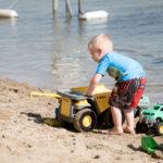 Plenty of sand toys