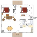 Maple Lodge floor plan