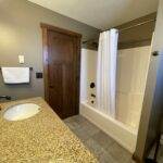 Main Level Bathroom by Lakeside Rooms