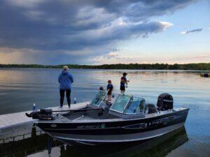 Successful Dock Fishing